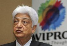 azim premji says not sales wipro shares