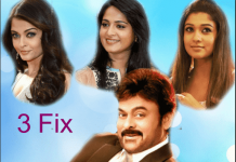 Mega Star Chiranjeevi 151 Movie Heroines Fix