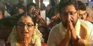 MLA Sabarinathan Married To IAS Officer Divya Iyer