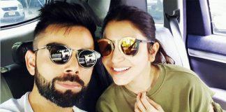 Anushka Sharama and Virat Kohli enjoying their love life