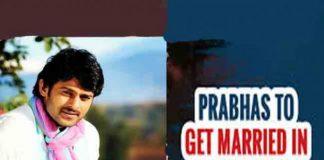 Prabhas Marrige After Saaho Movie