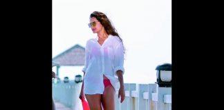 Pragya Jaiswal in bikini
