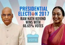 Ram Nadh Kovind Won With Majority
