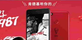 KFC Huawei 7 Plus Smartphone
