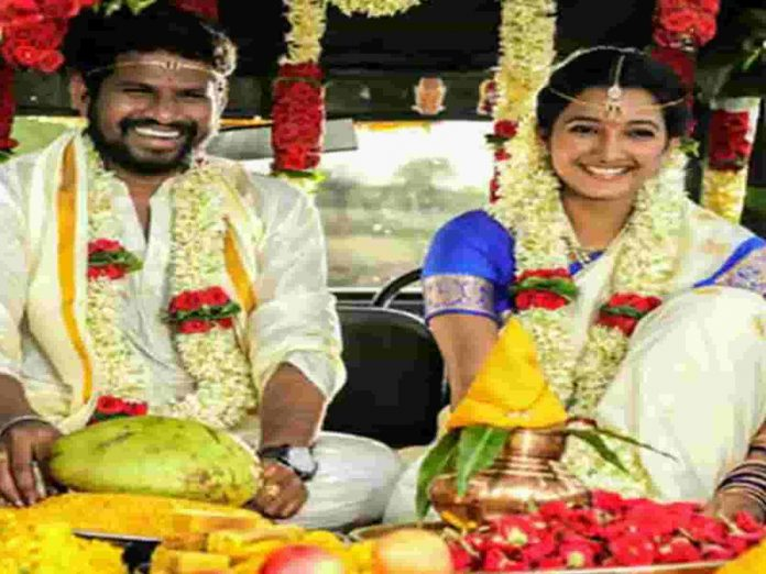 Facts of Hyper Aadi Secret Wedding Pic