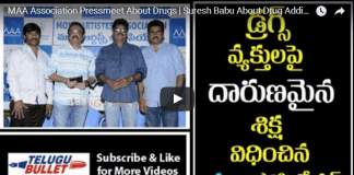 MAA Association press meet about drugs case in Tollywood