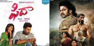 Fidaa movie competes Bahubhali