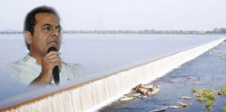 Minister KTR Inaugurated Mission Bhagiratha Reservoir