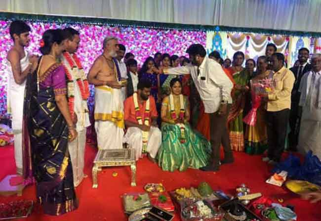 Paritala Sriram Engagement Details