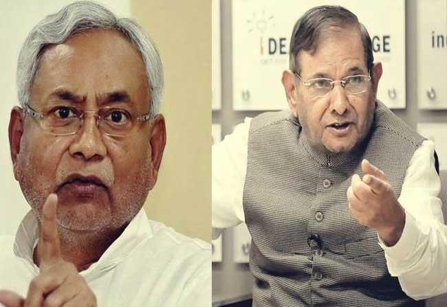 Sharad Yadav Declares War Nitish Kumar