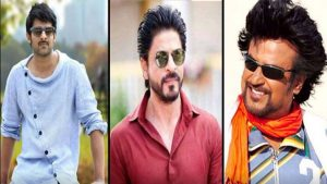Star heroes with Shahrukh Khan