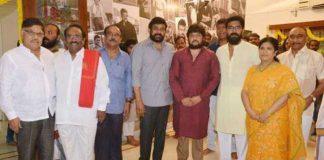 Uyyalawada Narasimha Reddy Biopic Launched