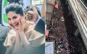 Kochi Fans go Gaga over Sunny Leone