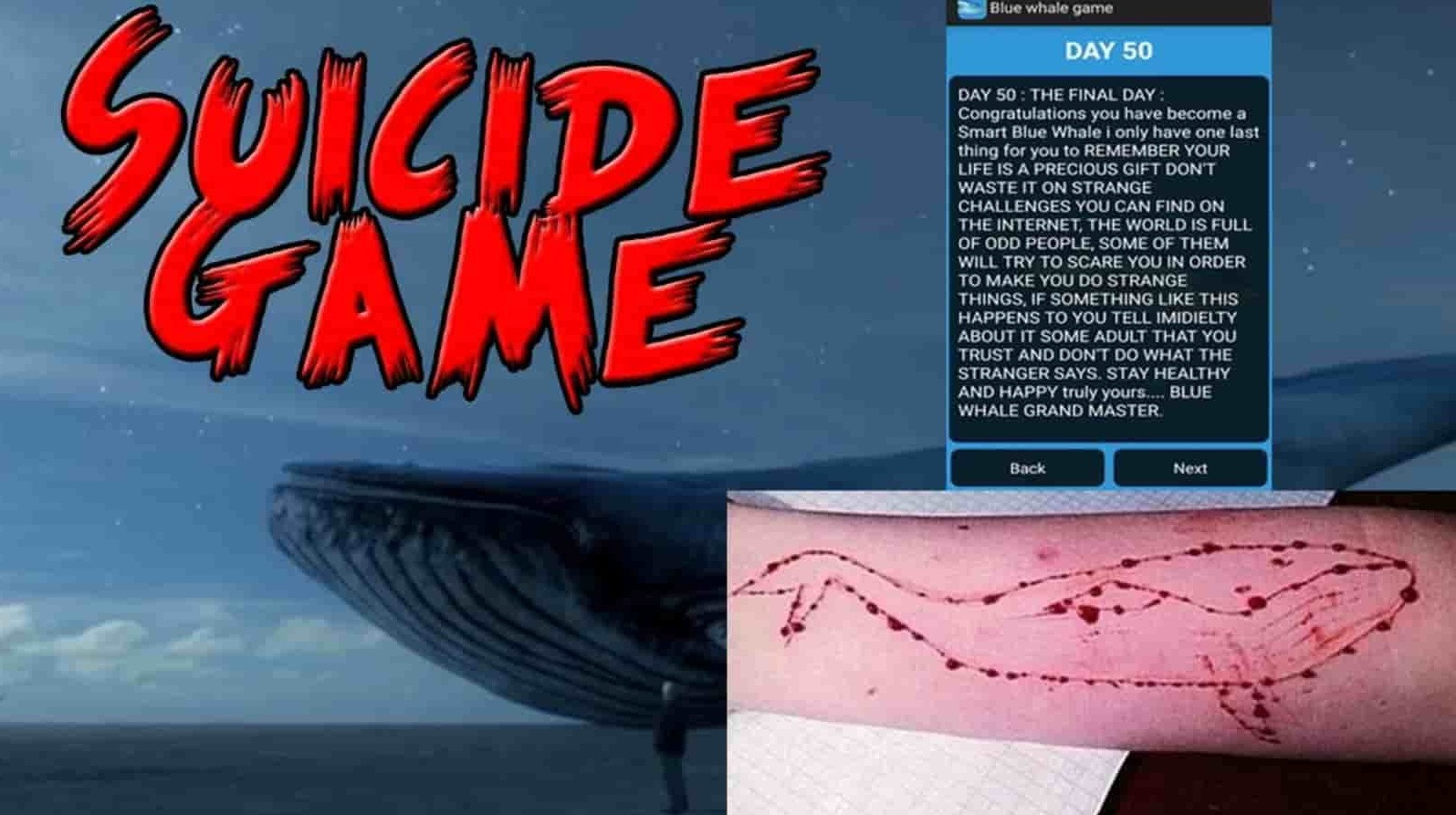 Death Game Blue Whale Details Technology Telugu Bullet