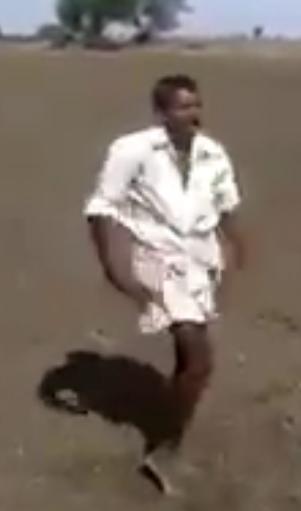 Ananthapur Farmer Dance Viral Video