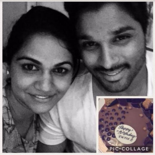 Allu Arjun Tweet To Sneha Reddy