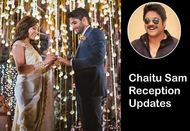 Chaitanya Samantha Reception Updates