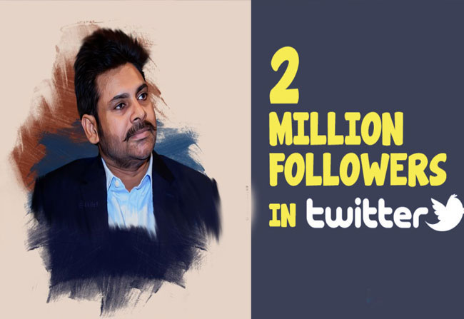 Pawan Kalyan Twitter followers