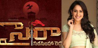 Pragya Jaiswal Sye Raa Narasimha Reddy Movie