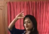 Jimiki Kammal Song dance performance by anchor Suma