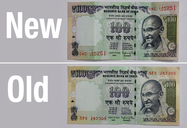 New 100 Rs Note to Release in April
