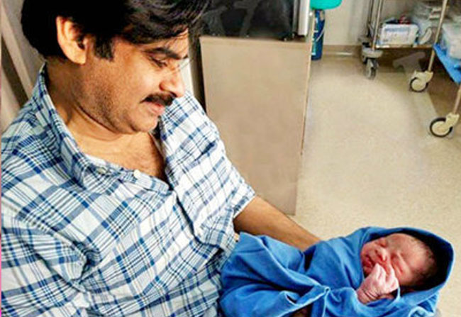 Pawan Kalyan Blessed with Baby Boy
