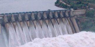 Minister Devineni Uma open Srisailam gates to release water