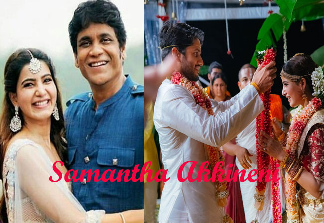 Samantha changed her surname as Samantha Akkineni