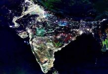 Astronaut Paolo Indian space photo of Diwali 2017