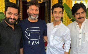 NTR Trivikram Movie Pooja Ceremony Funny Moment with Pawan