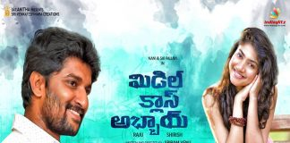 Nani Middle Class Abbai Movie First Look on Diwali