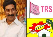 Andhra Jyothi MD Radha Krishna trying to combine TDP and TRS