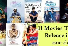 11 Telugu Movies to release in one day