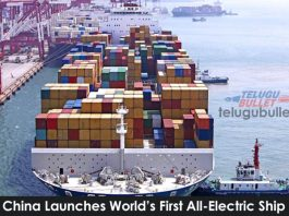 China Launches World's First All-Electric Ship
