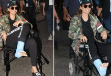 Kangana Ranaut injured during shooting Right Leg Fractured