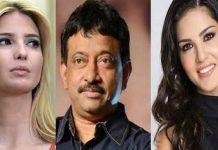 RGV compares Ivanka Trump with Sunny Leone