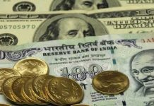 Rupee Runs 69 paise against USD Sensex Climbs 400 Points