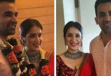 Zaheer Khan weds Sagarika