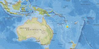 Earthquake Shakes off Australian Coast
