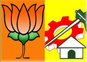 bjp vs tdp politics vijayawada
