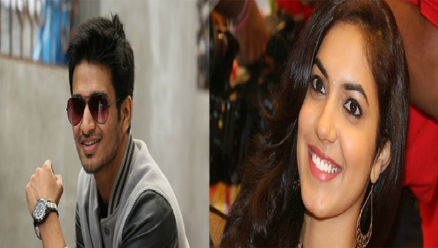 ritu varma got lucky chance  act nikhil movie