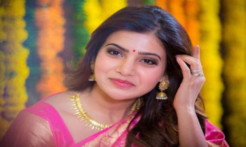 samantha throwing perfume marriage guests