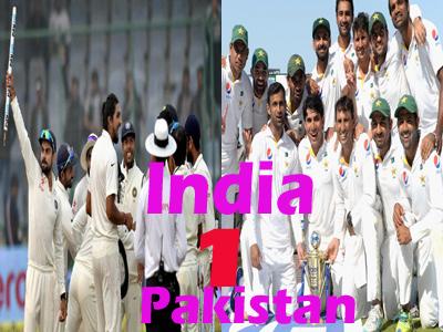 who will achieve no1 test rank india pakistan