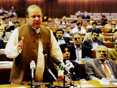pakistan pm nawaz sharif pakistan pm nawaz sharif unparliamentary words about kashmir about kashmir