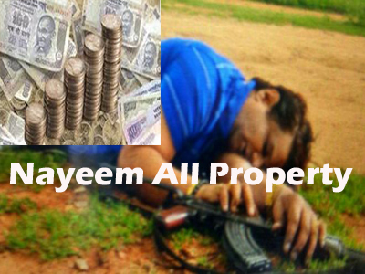 govt take nayeem all properties