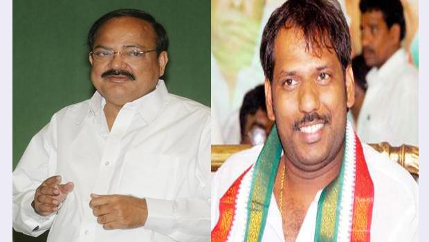 venkaiah naidu asked ravi about addanki fights between balaram ravi kumar