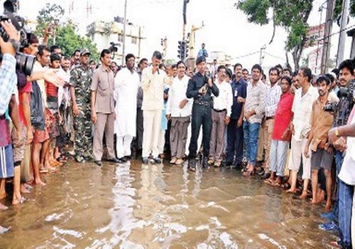 chandrababu said flood affected people