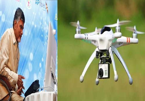 chandrababu said drone cameras ap
