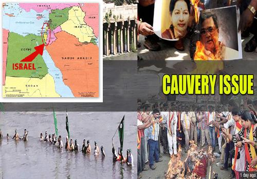 israel country scientist solve tamil nadu karnataka cauvery water war problem