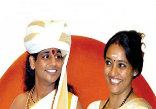 nithyananda swamy ranjitha started new telugu devotion channel